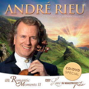 Andre Rieu (Romantic Moments 2, Love In Maastricht, CD+DVD) 640798