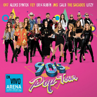 90's Pop Tour (2CDs+DVD En Vivo Arena Ciudad de Mexico) Sony-889854415020