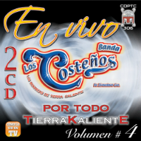 Banda Los Costenos (En Vivo Volumen 4) 2 CDs PROD-306