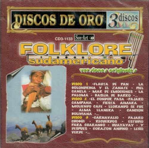 Folklore Sudamericano (3CDs, Versiones Originales) CD3-1133