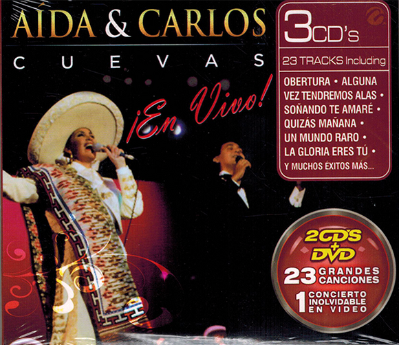 Aida Y Carlos Cuevas (En Vivo 2 CDs+DVD) Multimusic-8321