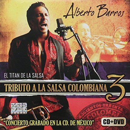 Alberto Barros (Tributo a la Salsa Colombiana 3 CD+DVD Sony-985225)