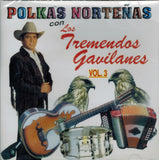 Tremendos Gavilanes (CD Polkas Nortenas Vol. 3) Cdc-497