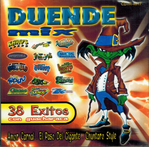 Duende Mix (CD 38 Exitos con Guacharaca) Cdtr-4017