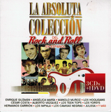 La Absoluta Coleccion Del Rock and Roll en Espanol (3Cd+Dvd - Varios Artistas Sony-262621)