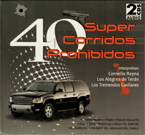 40 Super Corridos Prohibidos (Varios Artistas 2CDs) CD2C-5736