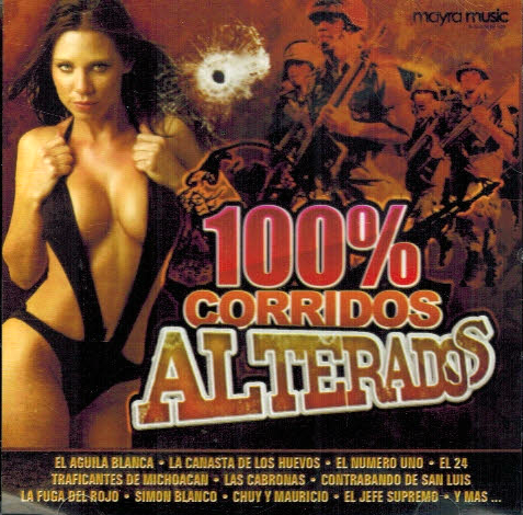 100% Corridos Alterados (CD Varios Artistas) MM-020