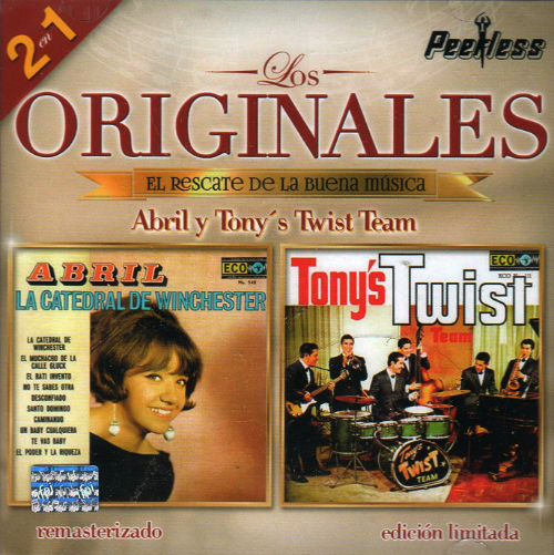 Abril y Tony's Twist Team (2en1 Los Originales de la Buena Musica) 060350