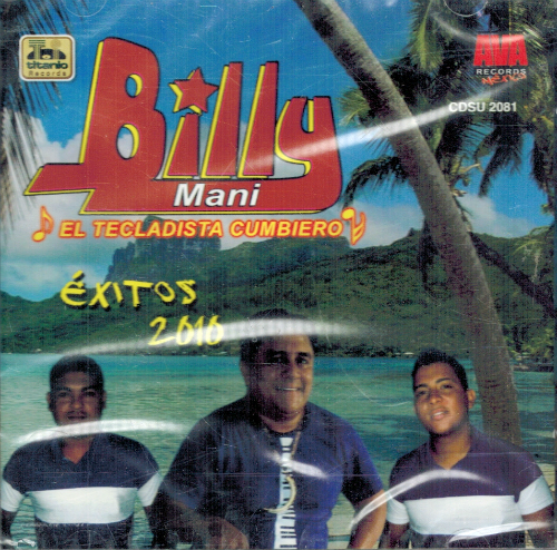 Billy Mani (Exitos 2010) Cdsu-2081