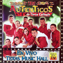 Los Autenticos De Tierra Caliente (En Vivo Texas Music Hall) AR-561