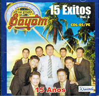 Grupo Bayam (CD 15 Exitos Volumen 6) CDL-05