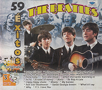 Beatles (59 Exitos Originales 3 CDs) TRICDD-10100