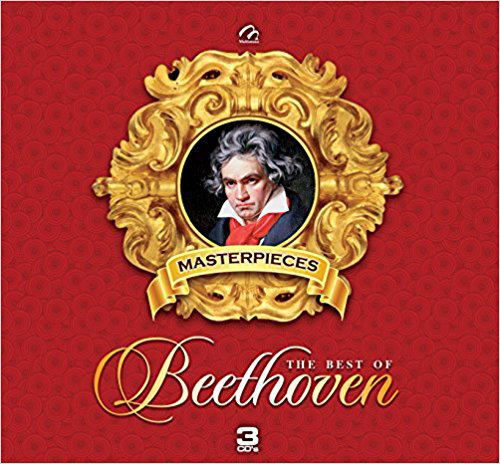Beethoven (Masterpieces The Best Of Beethoven 3CDs) TMB-08215