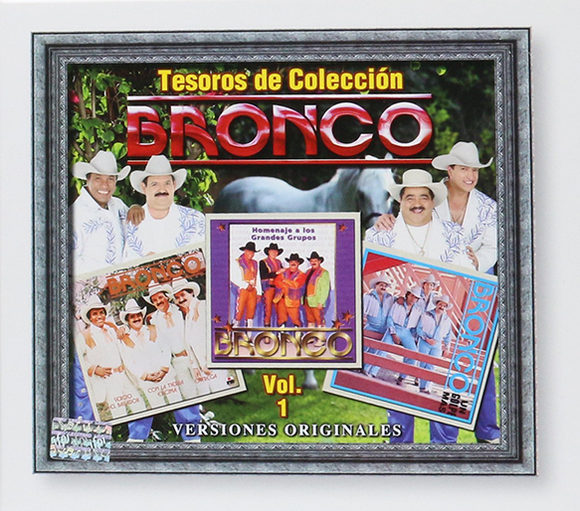 Bronco (Tesoros De Coleccion Volumen 1) 3CDS- Sony-798476