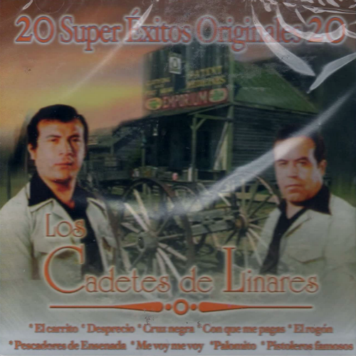 Los Cadetes De Linares (CD 20 Super Exitos Originales) CDE-1526