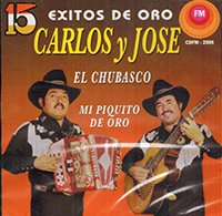Carlos Y Jose (CD 15 Exitos De Oro) CDFM-2086