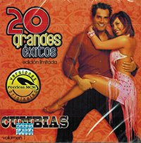 Cumbias (CD 20 Grandes Exitos Volumen 1) Peerless Warner 9858865