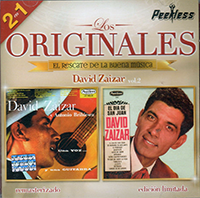 David Zaizar (CD Los Originales Volumen 2) WEA-Peerless-5963652