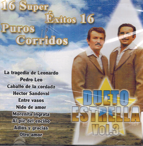 Dueto Estrella (CD 16 Super Exitos, 16 Super Corridos) CDE-1586