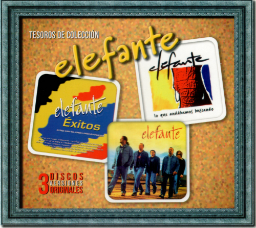 Elefante (3CD Versiones Originales, Tesoros de Coleccion) 72089