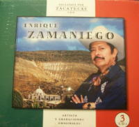 Enrique Zamaniego (3CDs Paseando por Zacatecas) DL-787364184422