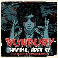 Enrique Bunbury (Madrid, Area 51 En Un Solo Acto De Destruccion Masiva) 2CD+2DVD WEA-3783 N/AZ