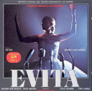 Evita Version Original En Espanol 2CDs) Sony-82178 N/AZ