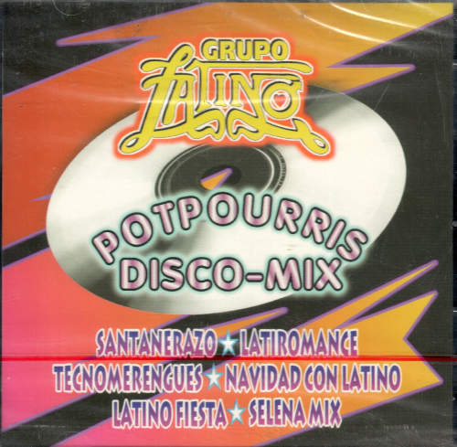 Grupo Latino (CD Potpourris Disco-Mix) 7509981981825