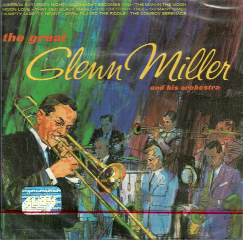 Glenn Miler and His Orchestra (CD, The Great) CDV-743217230821