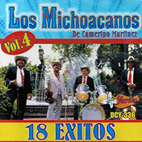 Michoacanos De Camerino (CD 17 Exitos Volumen 4) DCY-336