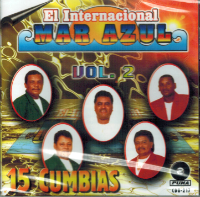 El Internacional Mar Azul (15 Cumbias Volumen 2) Cdo-217