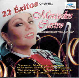Mercedes Castro (CD 22 Exitos Originales) CDD-7296