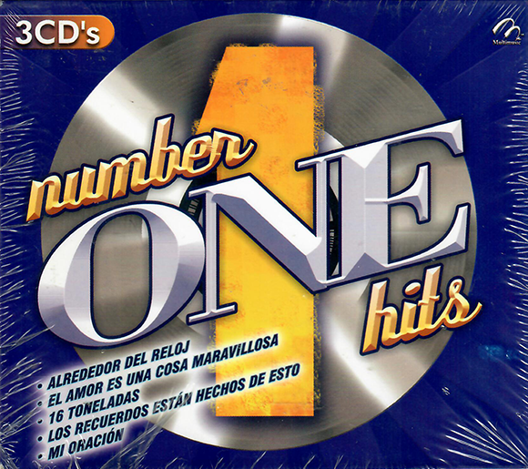 Varios Artistas (Number One Hits 3CDs) Multi-8463