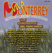 Rancheritos Del Topo Chico (CD Corrido, Boleros Y Rancheras) Arm-2098