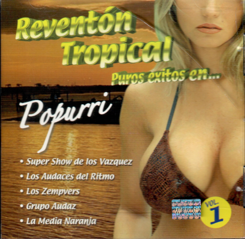 Reventon Tropical Vol.#1 (Varios Artistas, CD) 612345051748 USADO