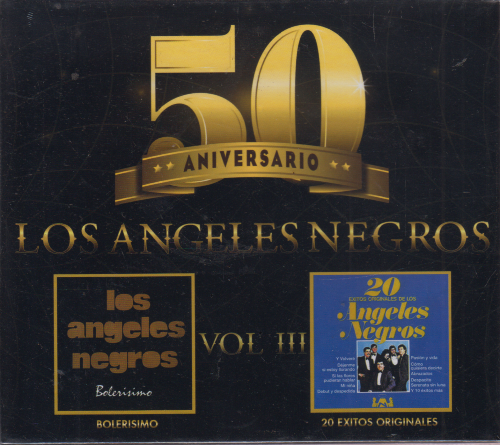 Los Angeles Negros (50 Aniversario Vol. 3, 2CDs) 808831163020