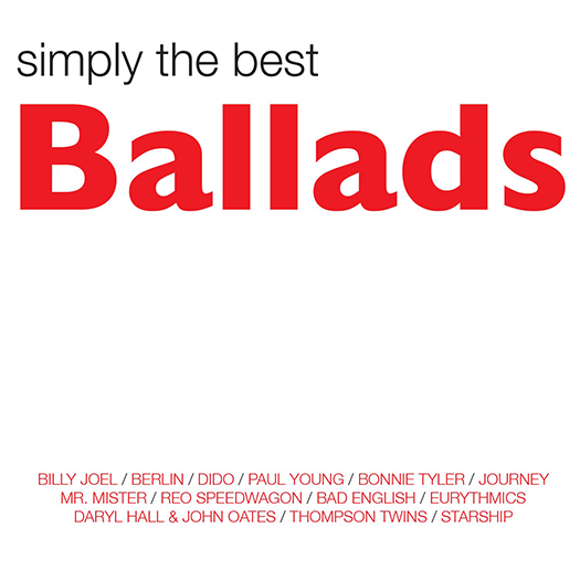 Varios Artistas (Simply The Best Ballads 2CDs 1DVD) Sony-584321