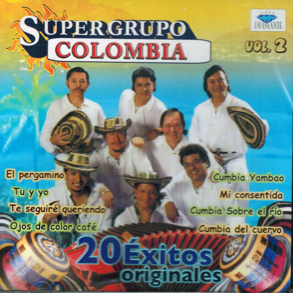 Super Grupo Colombia (20 Exitos Originales Vol. 2 CDD-7132)