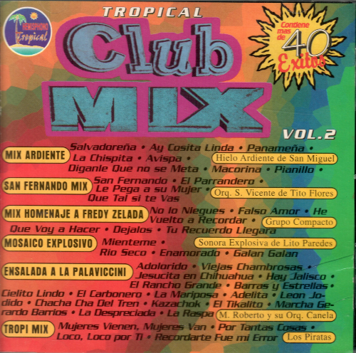 Club Mix Tropical (CD, Varios Artistas Vol.#2) HL-1048