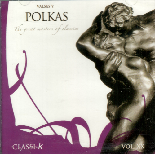 Valses y Polkas (CD The Great Masters of Classics) 696533202020