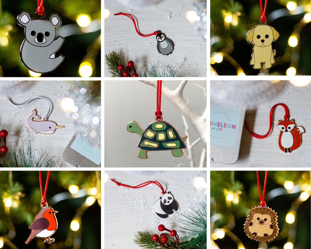 Alternative Christmas Tree Baubles