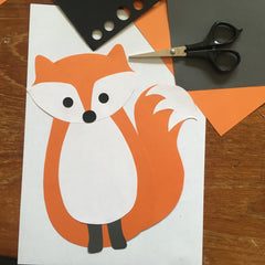 fox wall sticker design