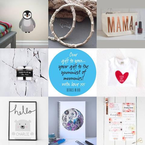 mothers day giveway penguin wall stickers for kids