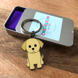you are pawsome puppy keyring, dog keyring, keyring gift for firend, lockdown gift, isolation gift, quarantine gift, social distance gift, positive message gift for friend, letterbox gift
