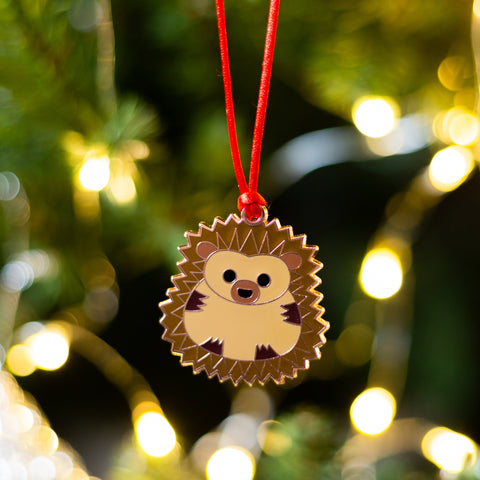 hedgehog xmas decoration, hedgehog tree decoration, hedgehog xmas gift, christmas tree decoration for girl, boy's christmas tree decoration, animal xmas decoration, animal tree decoration