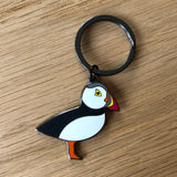 puffin keyring, puffin keychain, puffin key ring, puffin gift