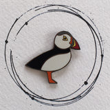 puffin pin badge, puffin enamel pin, puffin enamel pin badge, puffin badge, puffin lapel pin, puffin lapel badge, puffin gift, gift for mum, puffin