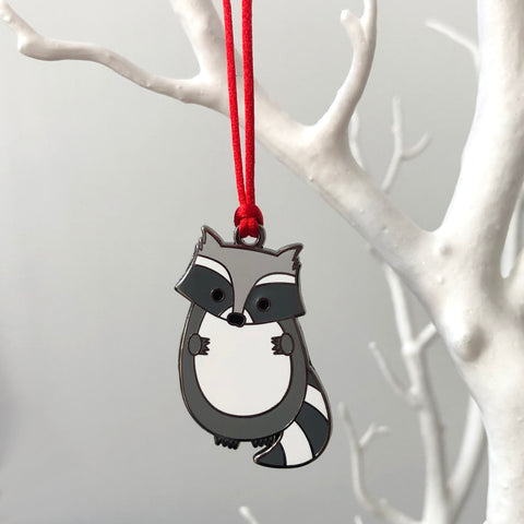 Raccoon Christmas Tree Decoration
