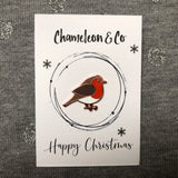 robin christmas gift, robin enamel pin, christmas pin badge, christmas bird, christmas gift for bird lover, robin gift, robin badge