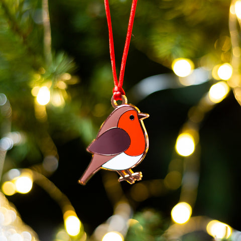 robin gift, robin bird christmas gift, robin bird xmas gift, robin bird hanging decoration, robin to hang on christmas tree, robin to hang on branch, robin christmas display